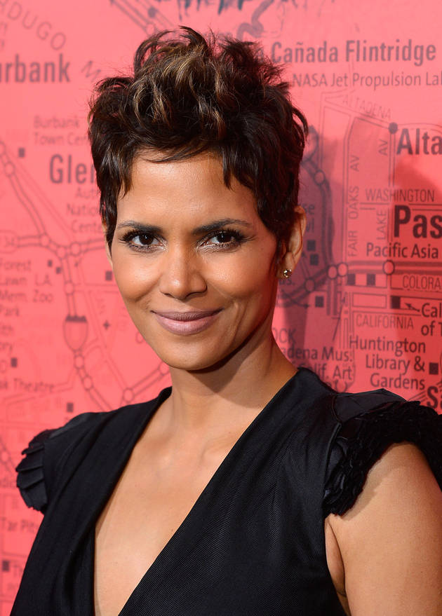 Halle Berry Debuts Baby Bump in Snug Top — See Pic!