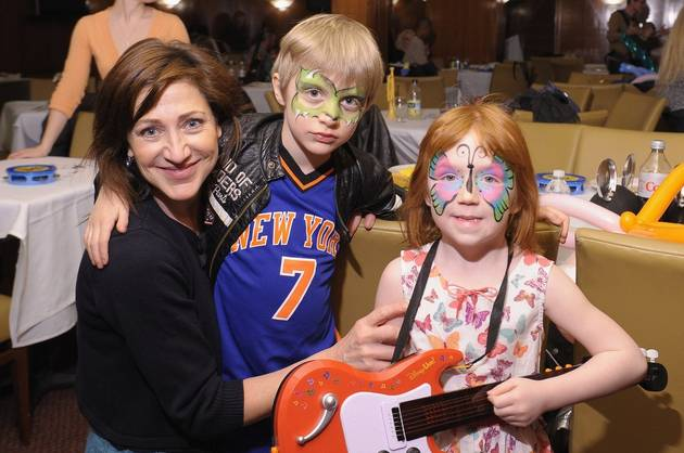 """Edie Falco on Juggling Work and Time With Her Two Kids: """"You Just Do the Best You Can"""""""