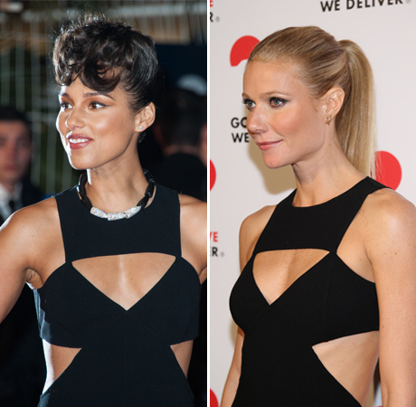 Alicia Keys vs. Gwyneth Paltrow: Who Rocked the Cut-Out Gown Better?
