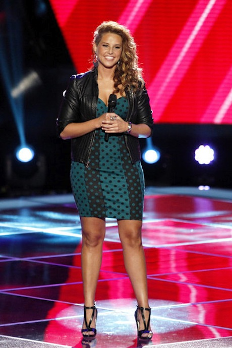 "Watch Amy Whitcomb Sing ""Because of You"" on The Voice 2013 Blind Auditions (VIDEO)"