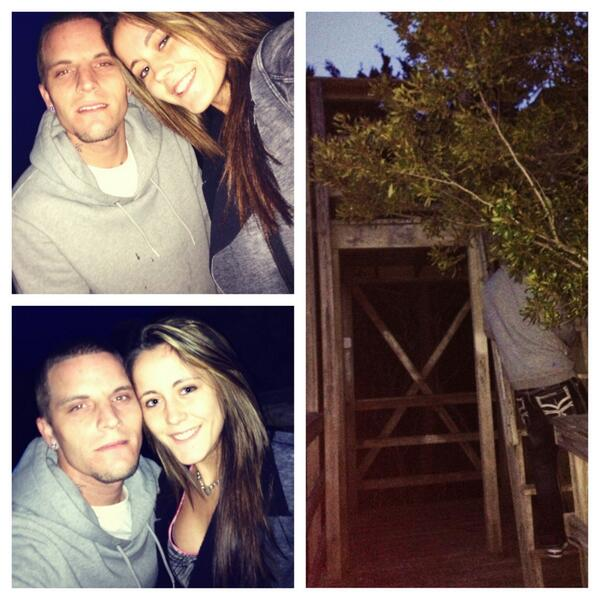 Jenelle Evans and Courtland Rogers Go on Weird Adventure (PHOTOS)!