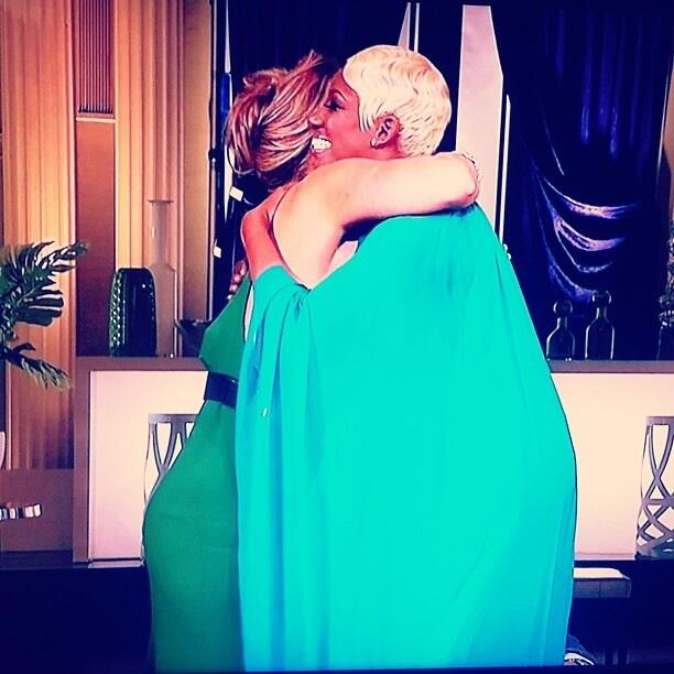 Kim Zolciak and NeNe Leakes Hug It Out on Real Housewives of Atlanta Reunion