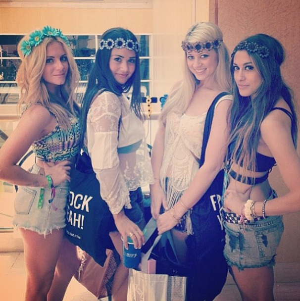 Catherine Giudici and Lesley Murphy Have a Coachella Girls' Weekend!