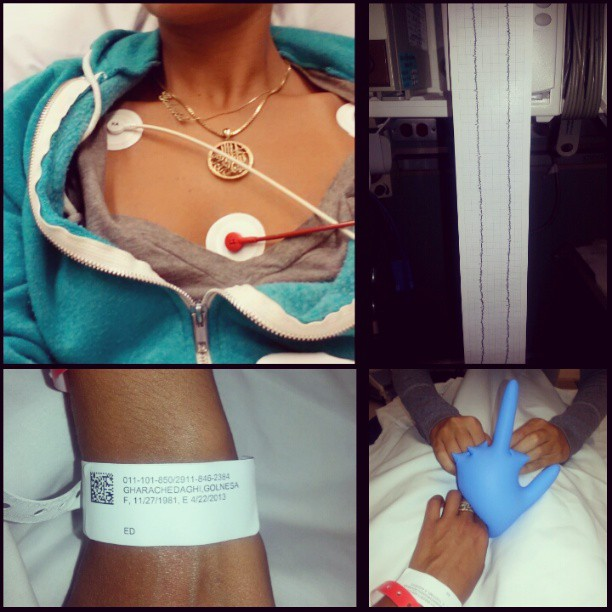 """Shahs of Sunset's Golnesa """"GG"""" Gharachedaghi Rushed to Emergency Room!"""
