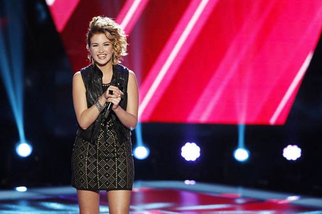 """The Voice 2013's Audrey Karrasch Talks Insulting Adam Levine: """"I Was Out of My Mind!"""""""