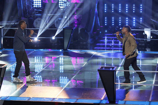 "C. Perkins and Kris Thomas Sing ""It Will Rain"" on The Voice 2013 Battle Rounds (VIDEO)"
