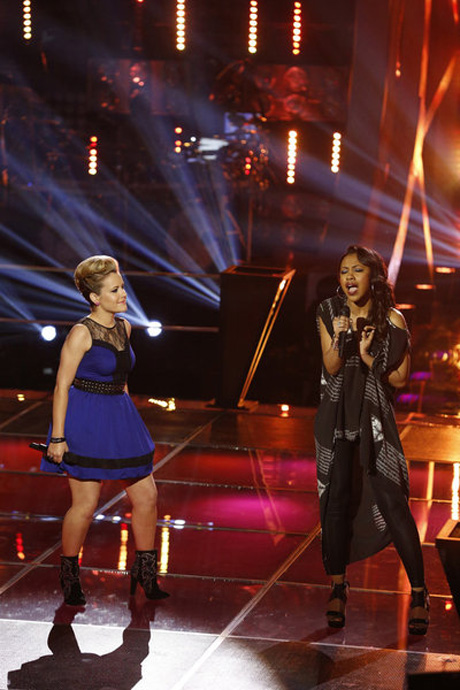"""Sasha Allen and Amber Carrington Sing """"Try"""" on The Voice 2013 Battle Rounds (VIDEO)"""