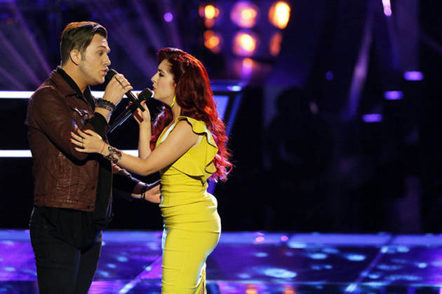Who Won Battle Rounds on The Voice 2013 on April 22, 2013?
