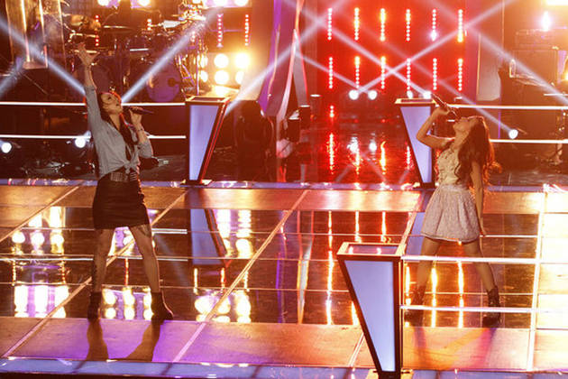 "Jacqui Sandell and Savannah Berry Sing ""Little White Church"" on The Voice 2013 Battle Rounds (VIDEO)"