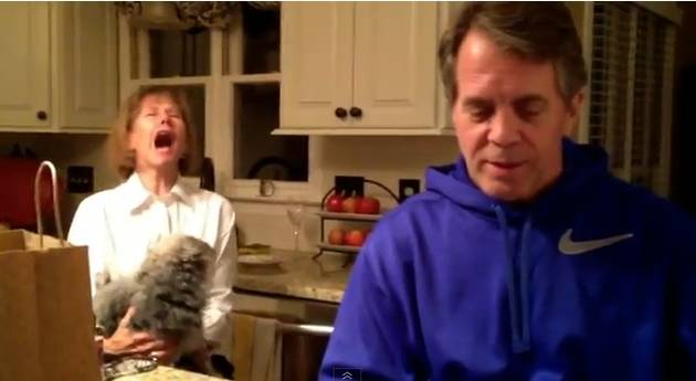 Couple Almost Gives Grandparents-to-Be a Heart Attack With Big Pregnancy Reveal (VIDEO)
