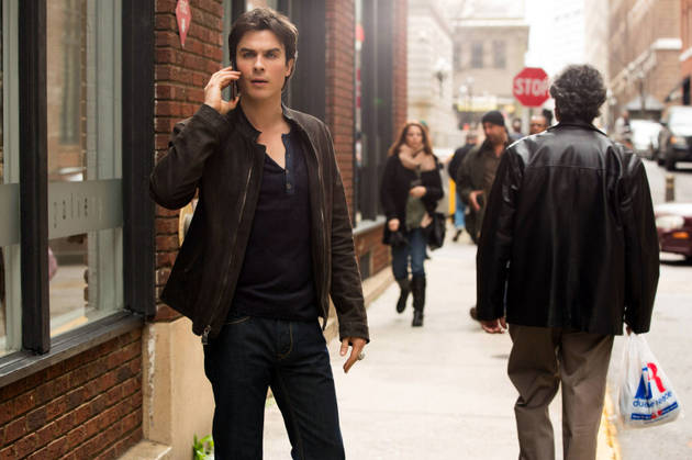 """Top 10 Damon Snarks From The Vampire Diaries Season 4, Episode 18: """"American Gothic"""""""