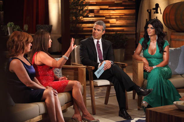 "Real Housewives of New Jersey Season 5: Andy Cohen Says a ""Force of Nature"" Plays Role"