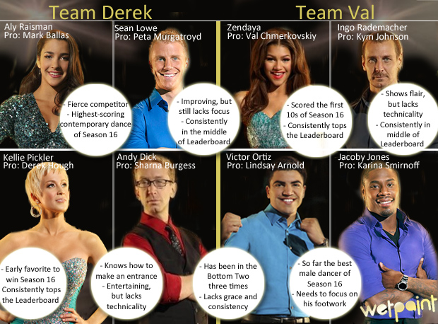Dancing With the Stars 2013: Team Val or Team Derek? Vote for Your Favorite Team! (POLL)