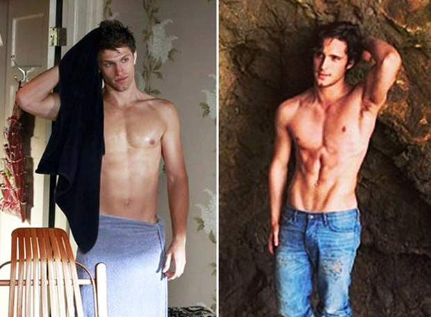 Pretty Little Liars Ab-Off: Is Keegan Allen or Diego Boneta Hotter Shirtless? (PHOTOS)