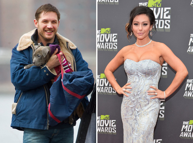 "JWOWW Wants to Make Out with Tom Hardy, Calls Herself His ""Girlfriend"""