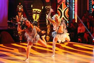 Dancing With the Stars 2013: Was Mark and Aly's Afro Jazz Offensive?
