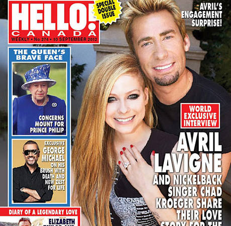 Avril Lavigne Will Marry Chad Kroeger on June 15: Report — See Their Wedding Bands