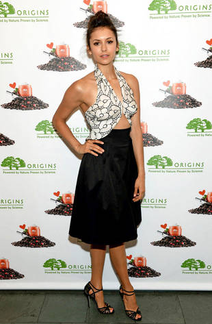 "Nina Dobrev Calls Angelina Jolie's Double Mastectomy ""Difficult Decision"""
