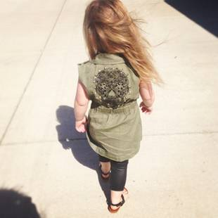 Should Chelsea Houska Sign Daughter Aubree Up For Modeling? (PHOTO)