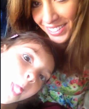 Happy Memorial Day From Farrah Abraham! (VIDEO)