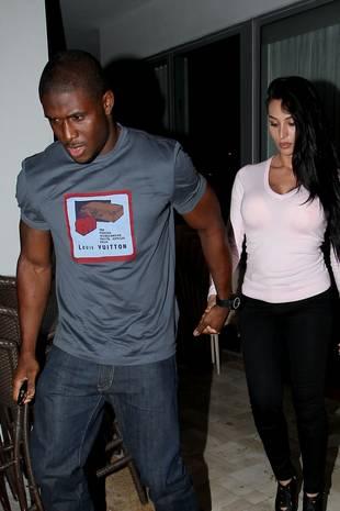 Reggie Bush Is Engaged to His Kim Kardashian Lookalike Girlfriend