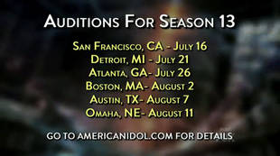 American Idol 2014 Auditions Announced: Audition Online For Season 13!