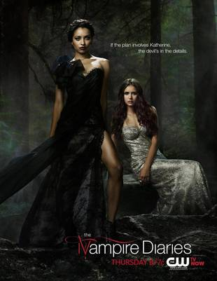 Vampire Diaries 4 Poster: Bonnie and Katherine Are Devilish