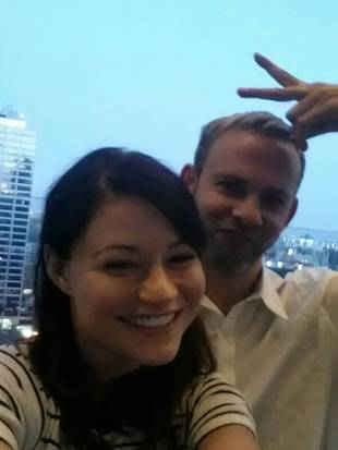 Emilie de Ravin Reunites With Lost Lover Dominic Monaghan (PHOTO)
