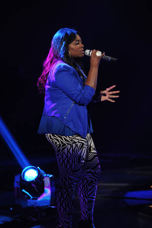 """Candice Glover """"Not That Confident"""" About American Idol Finale Chances — Interview"""