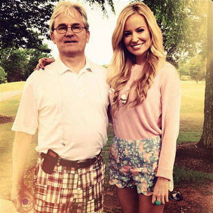 Emily Maynard's Floral-Print Scalloped Shorts: Get the Look!