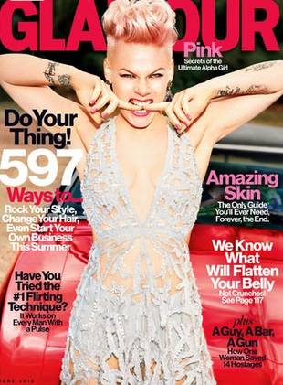 "Pink Opens Up About Motherhood in Glamour: ""Being a Parent Is a Jedi Mind F**k"""