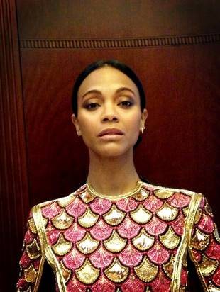 Zoe Saldana Simultaneously Compliments and Insults Britney Spears (VIDEO)