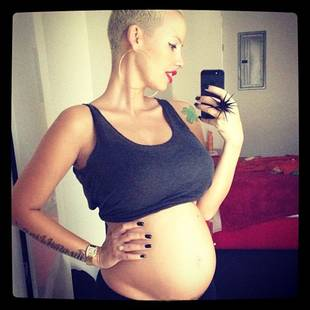 Why Did New Mom Amber Rose Give Up Her Plan Of A Home Birth?