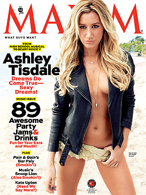 Ashley Tisdale 'Always Pretty Comfortable' Posing for Sexy Photo Shoots