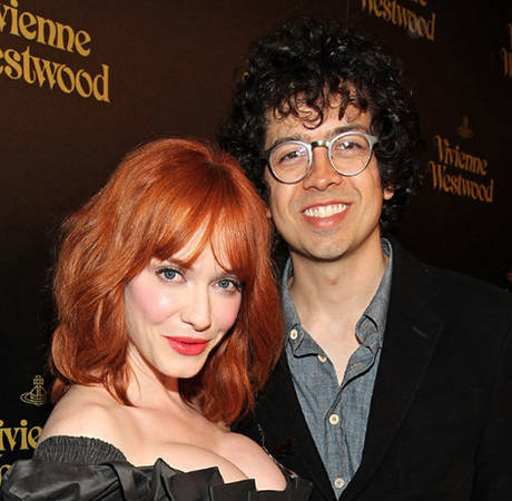 "Christina Hendricks Never Wears Sweatpants: ""I Can't Do That to My Husband"""