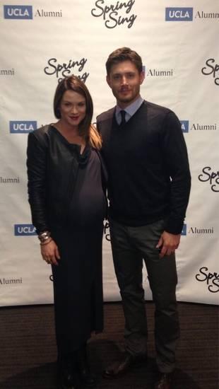 Pregnant Danneel Harris Shows Big Baby Bump With Supernatural's Jensen Ackles (PHOTO)