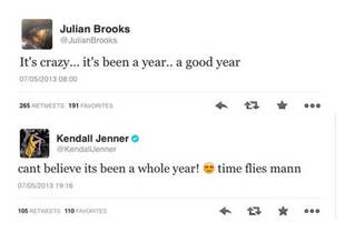Happy Anniversary? Kendall Jenner and Julian Brooks Spark Dating Rumors
