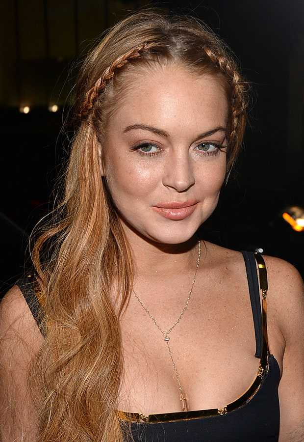 Lindsay Lohan Is Now Back at the Betty Ford Center: Report