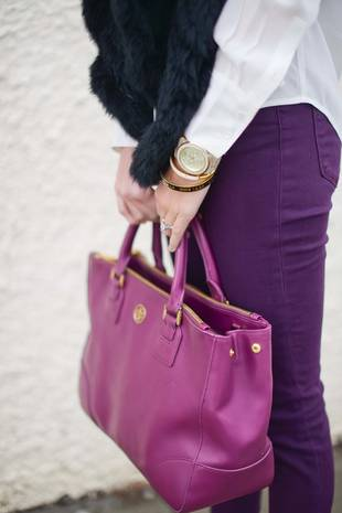 Purses Have More Germs Than Toilet Seats — Gag!