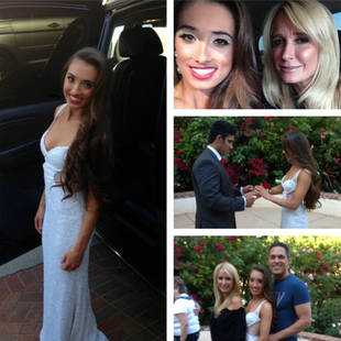Kim Richards Shares Adorable Photos of Daughter Kimberly on Prom Night