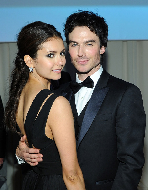 Ian Somerhalder and Nina Dobrev: Did He Deny Breakup in Brussels?