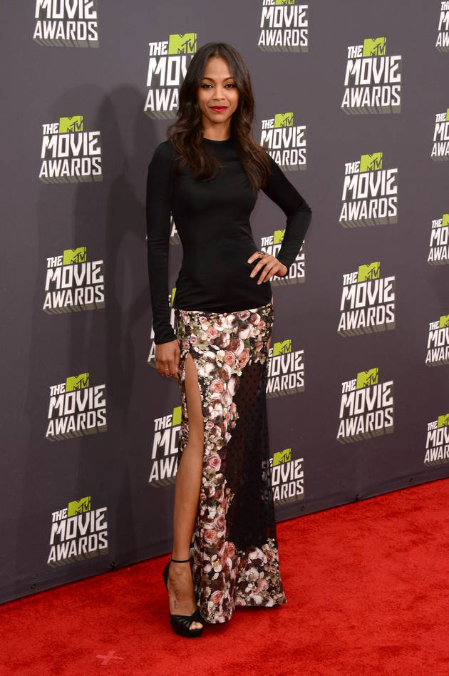 Who Was Zoe Saldana Seen Making Out With? New Couple Alert — See Pic!