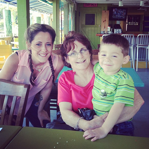 Jenelle Evans Looks Healthy on Outing With Mom Barbara and Son Jace (PHOTO)