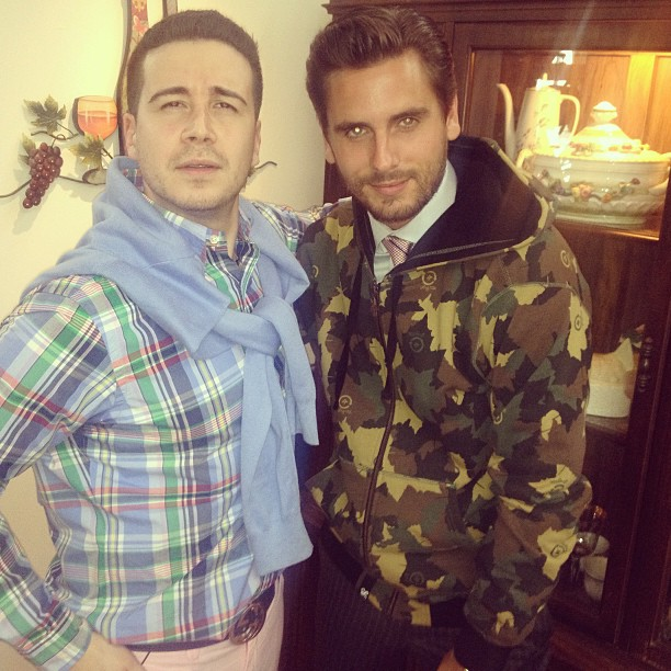 "Vinny Becomes ""Lord Staten"" in Scott Disick's Clothes on The Show With Vinny (VIDEO)"