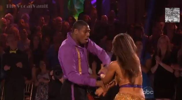 Jacoby Jones and Karina Smirnoff's Instant Dance Salsa on Dancing With the Stars Finale (VIDEO)