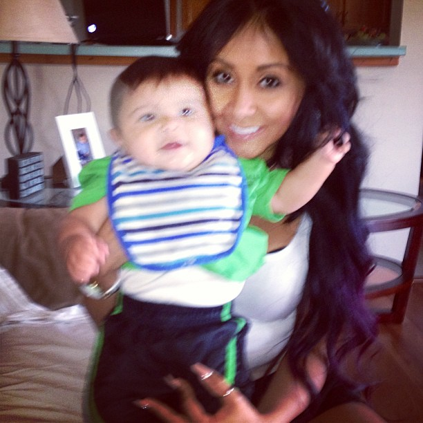 "What Did Snooki Do For Her First Mother's Day — And What Made Her ""Freak Out""? (PHOTO)"