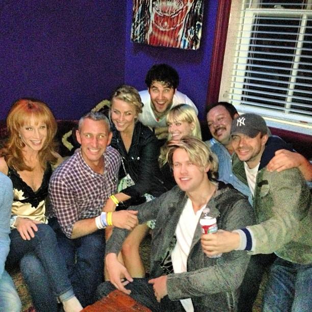 Julianne Hough Supports Glee's Darren Criss at LA Concert (PHOTO)