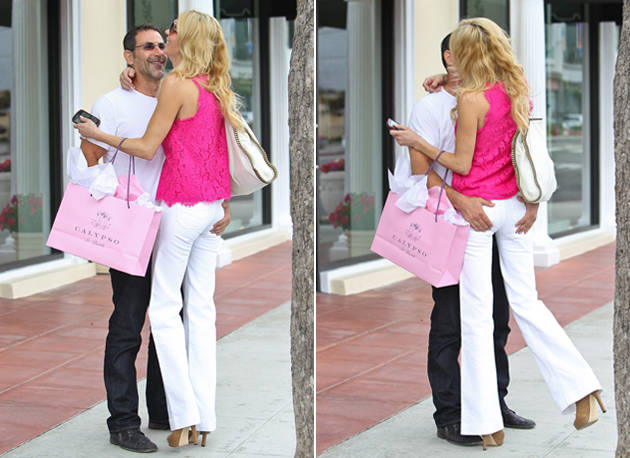 Brandi Glanville's Butt Gets Some Major PDA in Beverly Hills! (PHOTOS)