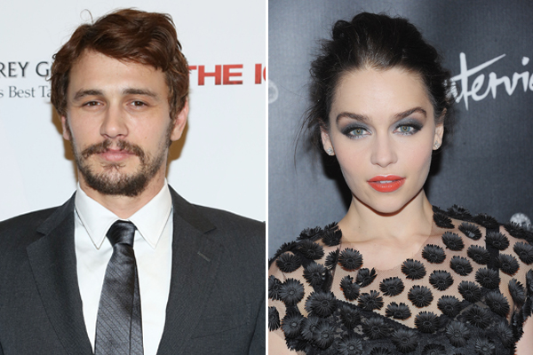 Emilia Clarke and James Franco? Actor Flirts With Game of Thrones Star — Report