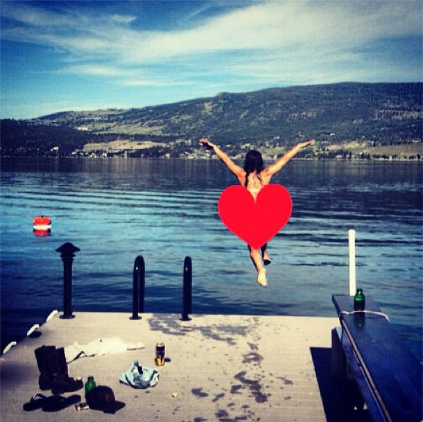 Jillian Harris Takes a Nude Dip in the Lake! (PHOTO)